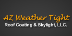 AZ Weather Tight Roof Coating & Skylight Logo